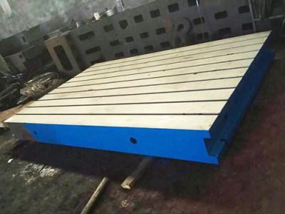 湖北武汉铸铁焊接平板-「康恒量具」三维铆焊平台|厂家价格
